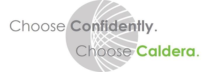 Choose confidently. Choose Caldera.