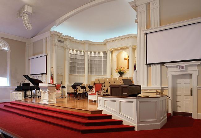 Baptist Church Sanctuary Layout First baptist church in