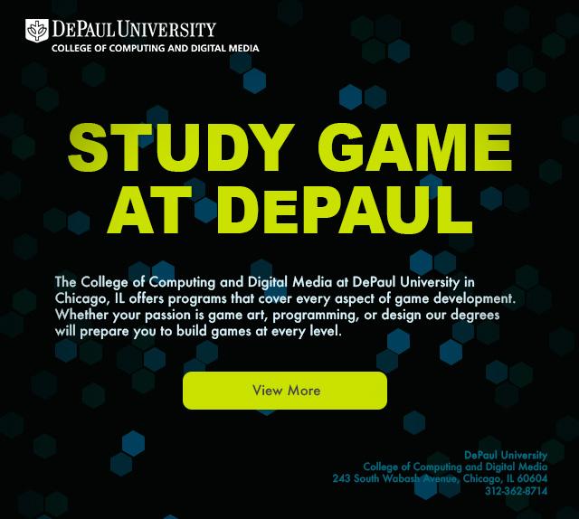 Study Game at DePaul College of Computing and Digital Media (CDM)