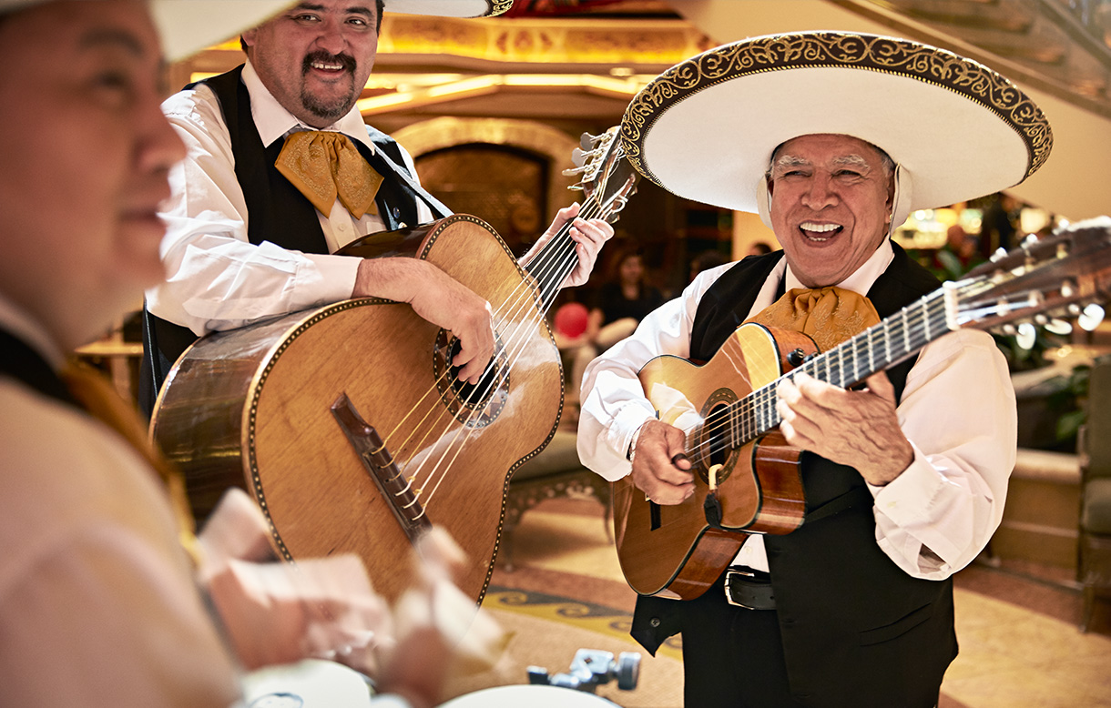Image of mariachi band | Click here to book now