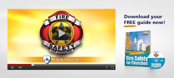 Fire Safety for Churches | Download your FREE guide now!