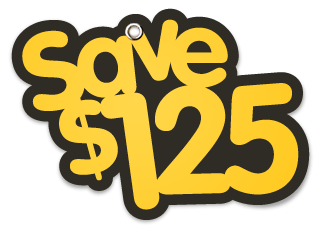 Save $125