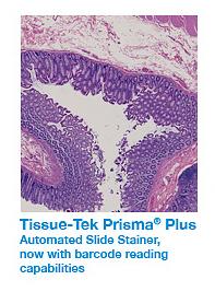 Tissue-Tek Prisma Plus.
