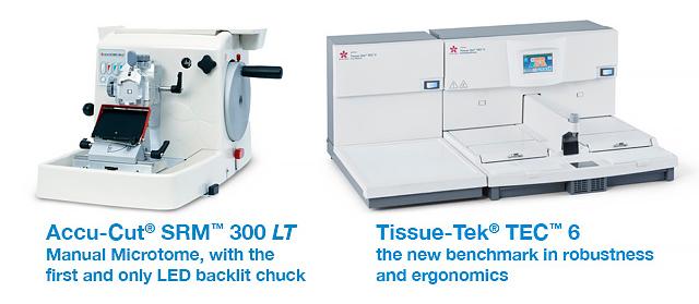 Accu-Cut 300 LT     Tissue-Tek TEC 6