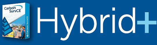 Carlson SurvCE - Hybrid+