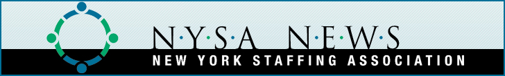 NYSA Staffing Industry Update