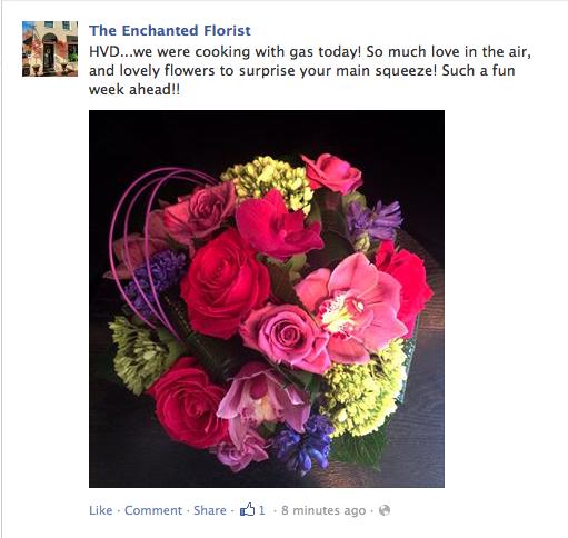 The enchanted florist alexandria va for Log cabin florist bakersfield