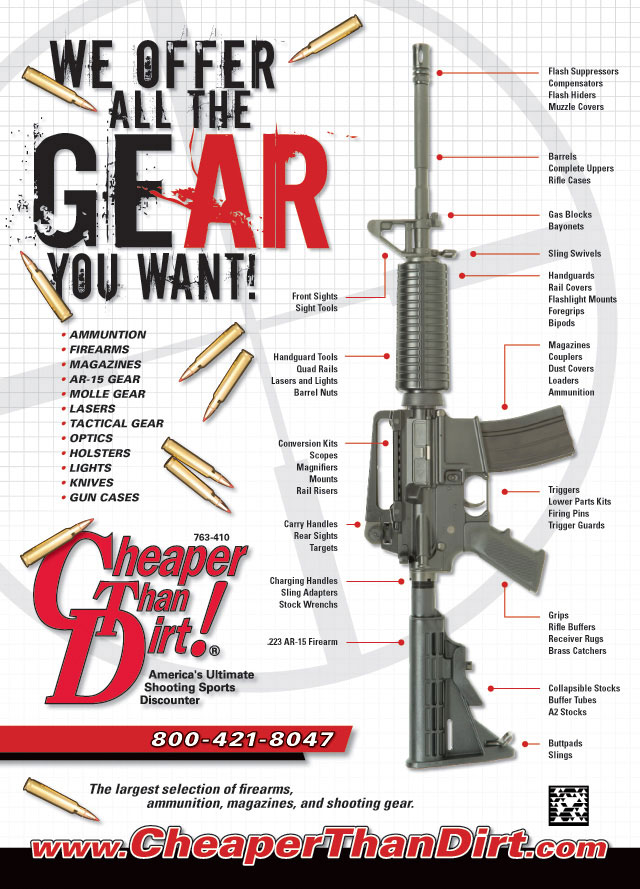 We offer all the gear you want!