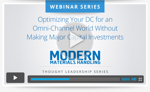 Optimizing Your DC for an Omni-Channel World Without Making Major Capital Investments